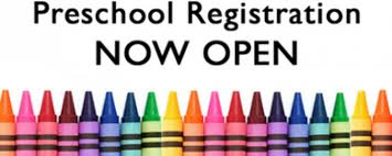 Preschool Registration Now Open!